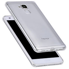 Cover Silicone Trasparente Ultra Sottile Morbida T05 per Huawei GR5 Mini Chiaro