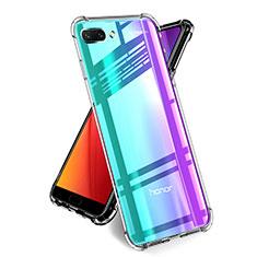 Cover Silicone Trasparente Ultra Sottile Morbida T05 per Huawei Honor 10 Chiaro