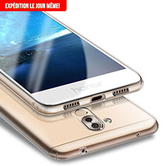 Cover Silicone Trasparente Ultra Sottile Morbida T05 per Huawei Honor 6X Chiaro
