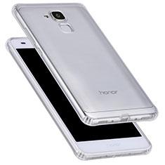 Cover Silicone Trasparente Ultra Sottile Morbida T05 per Huawei Honor 7 Lite Chiaro