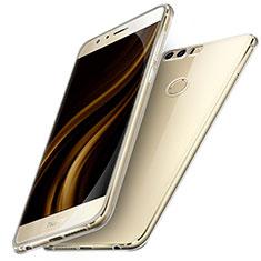 Cover Silicone Trasparente Ultra Sottile Morbida T05 per Huawei Honor 8 Chiaro