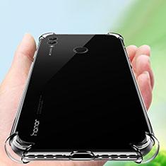 Cover Silicone Trasparente Ultra Sottile Morbida T05 per Huawei Honor Note 10 Chiaro
