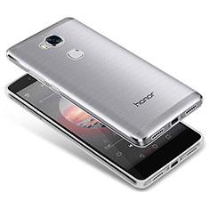 Cover Silicone Trasparente Ultra Sottile Morbida T05 per Huawei Honor Play 5X Chiaro