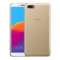 Cover Silicone Trasparente Ultra Sottile Morbida T05 per Huawei Honor Play 7 Chiaro