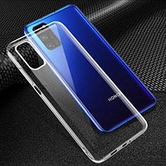 Cover Silicone Trasparente Ultra Sottile Morbida T05 per Huawei Honor View 30 5G Chiaro
