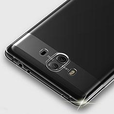 Cover Silicone Trasparente Ultra Sottile Morbida T05 per Huawei Mate 10 Chiaro