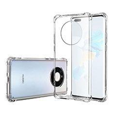 Cover Silicone Trasparente Ultra Sottile Morbida T05 per Huawei Mate 40 Pro Chiaro