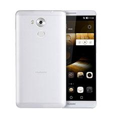 Cover Silicone Trasparente Ultra Sottile Morbida T05 per Huawei Mate 8 Chiaro
