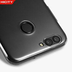 Cover Silicone Trasparente Ultra Sottile Morbida T05 per Huawei Nova 2 Plus Chiaro