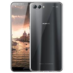 Cover Silicone Trasparente Ultra Sottile Morbida T05 per Huawei Nova 2S Chiaro