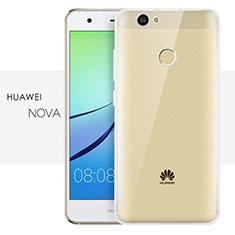 Cover Silicone Trasparente Ultra Sottile Morbida T05 per Huawei Nova Chiaro