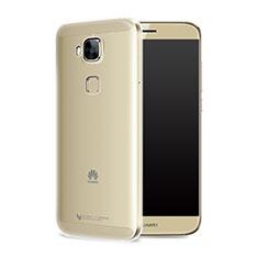 Cover Silicone Trasparente Ultra Sottile Morbida T05 per Huawei Nova Plus Chiaro