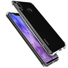 Cover Silicone Trasparente Ultra Sottile Morbida T05 per Huawei P Smart+ Plus Chiaro
