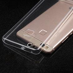 Cover Silicone Trasparente Ultra Sottile Morbida T05 per Huawei P9 Lite Chiaro