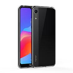 Cover Silicone Trasparente Ultra Sottile Morbida T05 per Huawei Y6 (2019) Chiaro