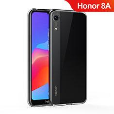 Cover Silicone Trasparente Ultra Sottile Morbida T05 per Huawei Y6 Pro (2019) Chiaro