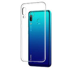 Cover Silicone Trasparente Ultra Sottile Morbida T05 per Huawei Y7 (2019) Chiaro
