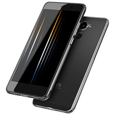 Cover Silicone Trasparente Ultra Sottile Morbida T05 per Huawei Y7 Prime Chiaro