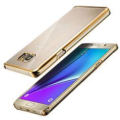 Cover Silicone Trasparente Ultra Sottile Morbida T05 per Samsung Galaxy Note 5 N9200 N920 N920F Chiaro
