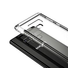 Cover Silicone Trasparente Ultra Sottile Morbida T05 per Samsung Galaxy Note 9 Chiaro