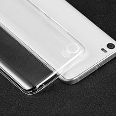 Cover Silicone Trasparente Ultra Sottile Morbida T05 per Xiaomi Mi 5 Chiaro