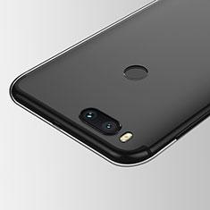 Cover Silicone Trasparente Ultra Sottile Morbida T05 per Xiaomi Mi A1 Chiaro