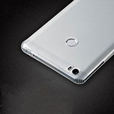 Cover Silicone Trasparente Ultra Sottile Morbida T05 per Xiaomi Mi Max Chiaro