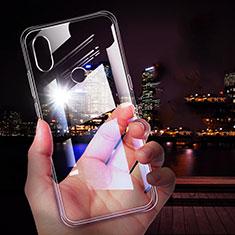 Cover Silicone Trasparente Ultra Sottile Morbida T05 per Xiaomi Mi Mix 3 Chiaro