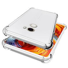Cover Silicone Trasparente Ultra Sottile Morbida T05 per Xiaomi Mi Mix Evo Chiaro