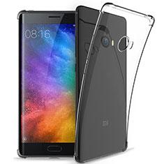 Cover Silicone Trasparente Ultra Sottile Morbida T05 per Xiaomi Mi Note 2 Chiaro
