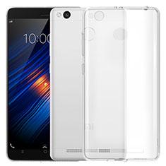 Cover Silicone Trasparente Ultra Sottile Morbida T05 per Xiaomi Redmi 3S Prime Chiaro