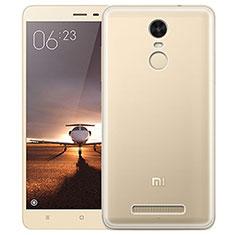 Cover Silicone Trasparente Ultra Sottile Morbida T05 per Xiaomi Redmi Note 3 MediaTek Chiaro