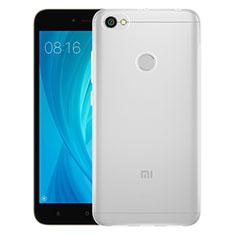 Cover Silicone Trasparente Ultra Sottile Morbida T05 per Xiaomi Redmi Note 5A Prime Chiaro