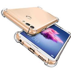 Cover Silicone Trasparente Ultra Sottile Morbida T06 per Huawei Enjoy 7S Chiaro