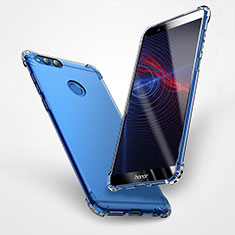Cover Silicone Trasparente Ultra Sottile Morbida T06 per Huawei Honor 7X Chiaro
