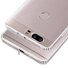 Cover Silicone Trasparente Ultra Sottile Morbida T06 per Huawei Honor V8 Chiaro