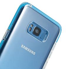 Cover Silicone Trasparente Ultra Sottile Morbida T06 per Samsung Galaxy S8 Plus Chiaro