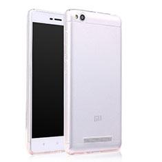 Cover Silicone Trasparente Ultra Sottile Morbida T06 per Xiaomi Redmi 4A Chiaro