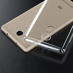 Cover Silicone Trasparente Ultra Sottile Morbida T06 per Xiaomi Redmi Note 3 Chiaro
