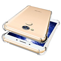 Cover Silicone Trasparente Ultra Sottile Morbida T07 per Huawei Honor 6A Chiaro