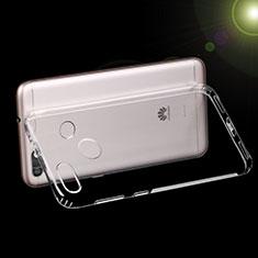 Cover Silicone Trasparente Ultra Sottile Morbida T07 per Huawei Y6 Pro (2017) Chiaro