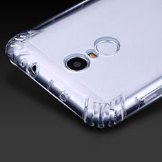 Cover Silicone Trasparente Ultra Sottile Morbida T07 per Xiaomi Redmi Note 3 MediaTek Chiaro