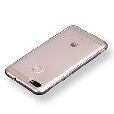 Cover Silicone Trasparente Ultra Sottile Morbida T08 per Huawei Enjoy 7 Chiaro