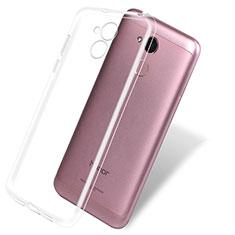 Cover Silicone Trasparente Ultra Sottile Morbida T08 per Huawei Honor 6A Chiaro