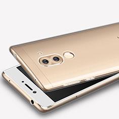 Cover Silicone Trasparente Ultra Sottile Morbida T08 per Huawei Honor 6X Chiaro