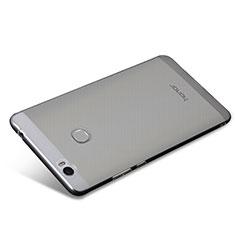 Cover Silicone Trasparente Ultra Sottile Morbida T08 per Huawei Honor V8 Max Chiaro