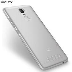 Cover Silicone Trasparente Ultra Sottile Morbida T08 per Xiaomi Redmi Note 3 Chiaro