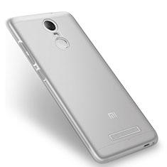 Cover Silicone Trasparente Ultra Sottile Morbida T08 per Xiaomi Redmi Note 3 Pro Chiaro