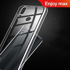 Cover Silicone Trasparente Ultra Sottile Morbida T09 per Huawei Enjoy Max Chiaro