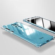 Cover Silicone Trasparente Ultra Sottile Morbida T09 per Huawei Honor 6X Pro Chiaro